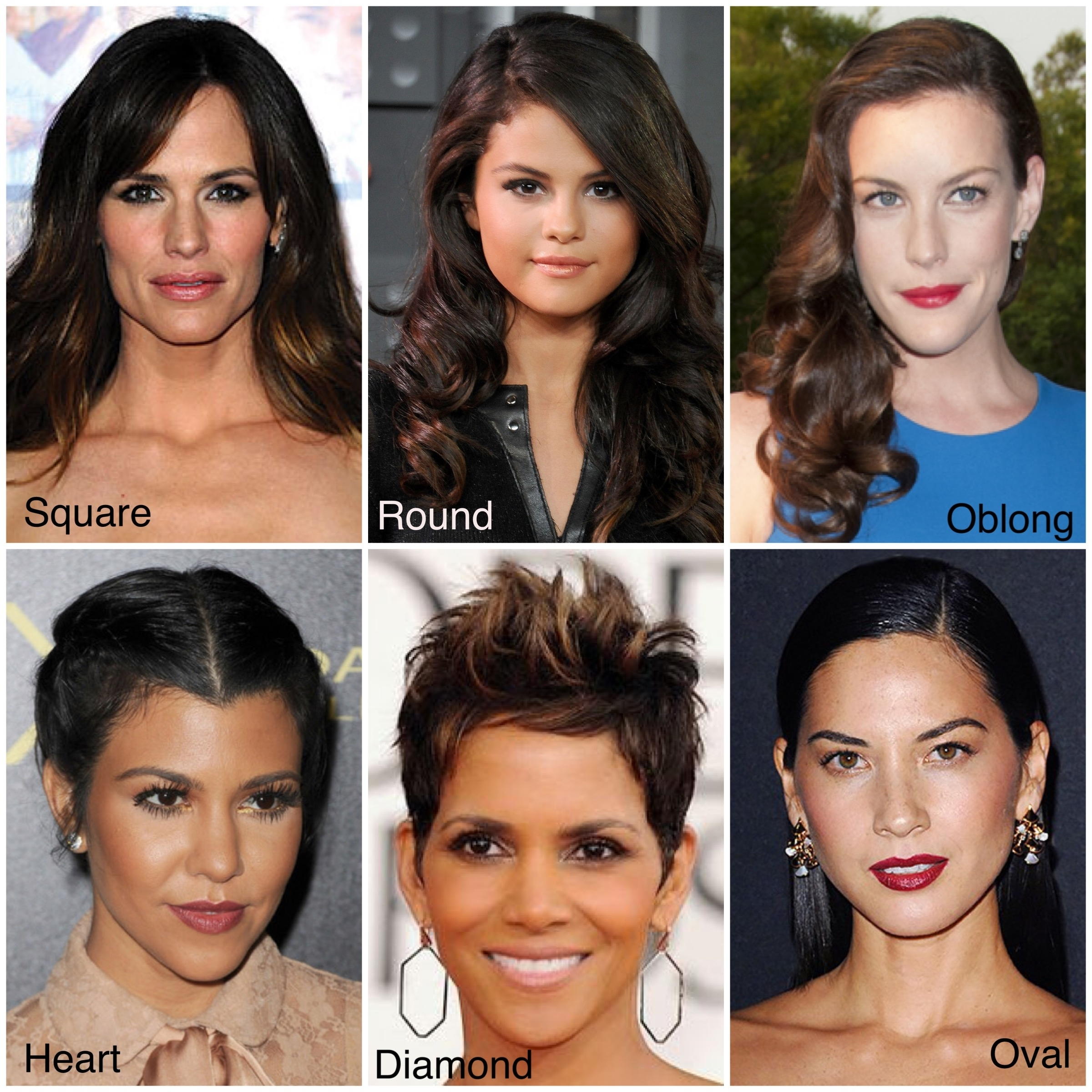 Haircut For Oval Square Face – Wavy Haircut