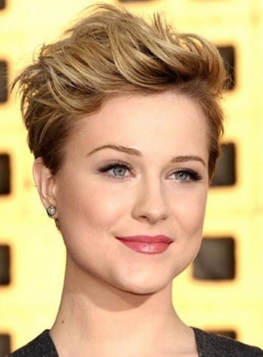 Hairstyles For Square Faces Over 40 Stunning - Yupinitos pertaining to Shaggy Pixie Haircut For Square Face