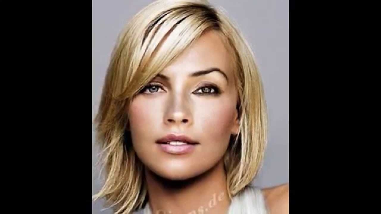 Hairstyles High Forehead - Youtube pertaining to Haircut For Oval Face With Big Forehead