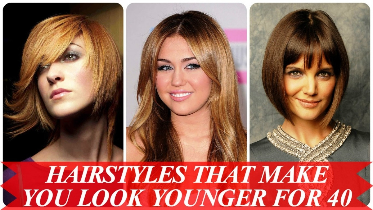Hairstyles To Look Younger | Best Hairstyles And Haircuts For Women inside Haircut To Look Younger 2018