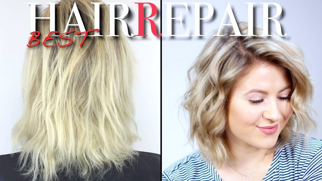 How To Repair Dry Damaged Hair | Milabu - Youtube for Short Haircuts For Thin Damaged Hair