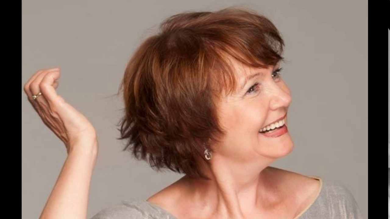 Ideas Impressive Short Hairstyle For Older Ladies Hairstyles Uk inside Haircuts For Thin Hair Uk