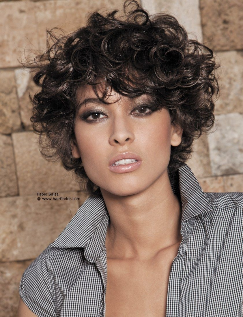 Indian Wavy Short Hairstyles | Short Curly Hair | Health | Pinterest intended for Short Haircut For Wavy Hair Indian