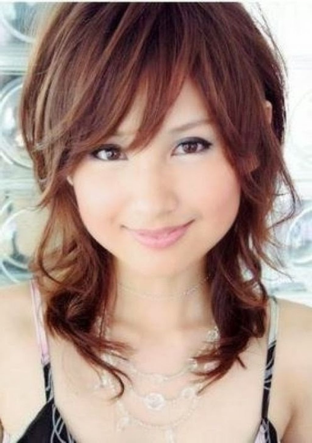 Japanese Hairstyle Round Face – Long Hairstyle Galleries   Hair with Japanese Haircut For Round Face