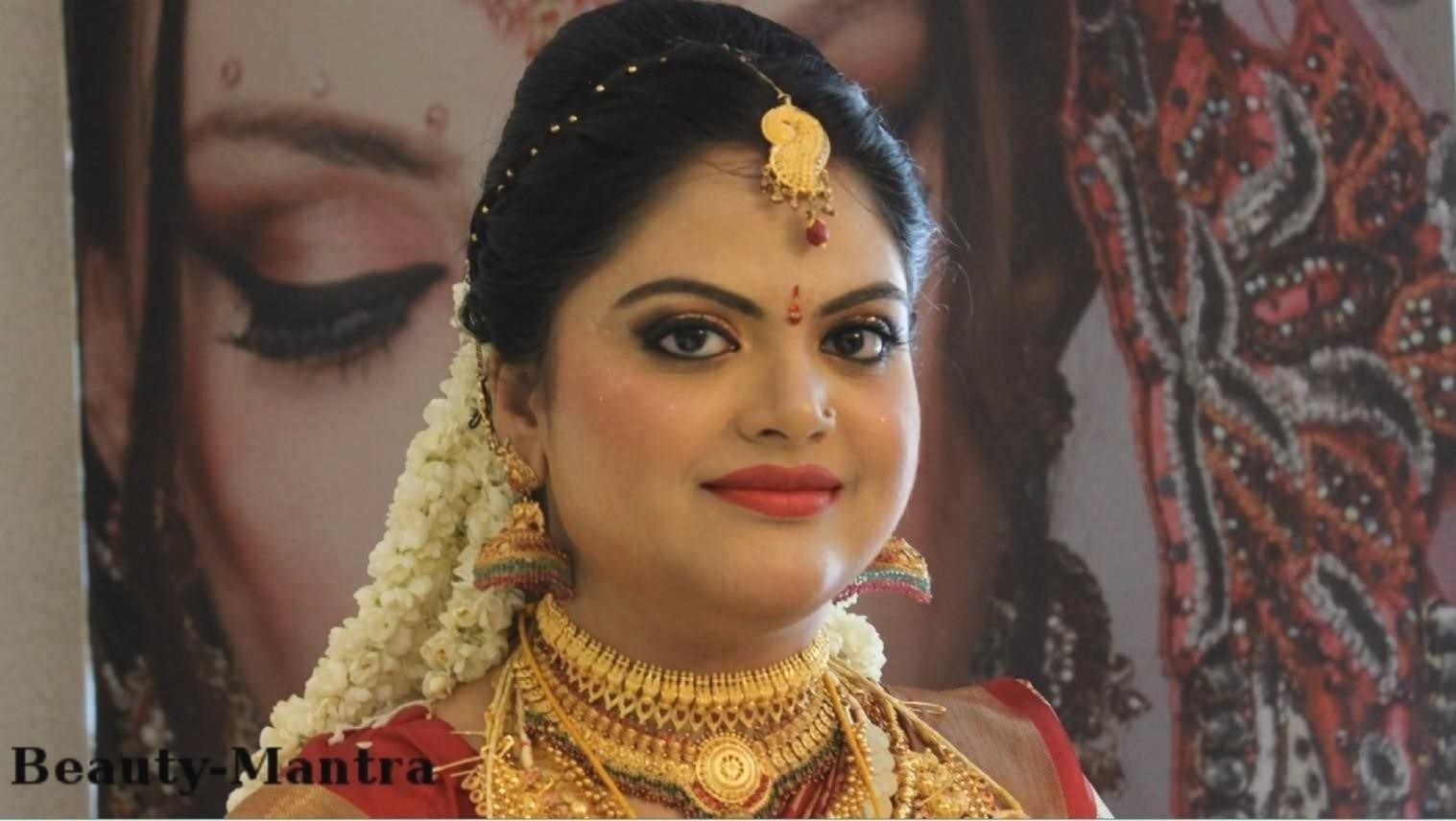 Kerala Bridal Hairstyles For Round Face | Fade Haircut intended for Hairstyle For Round Face Kerala