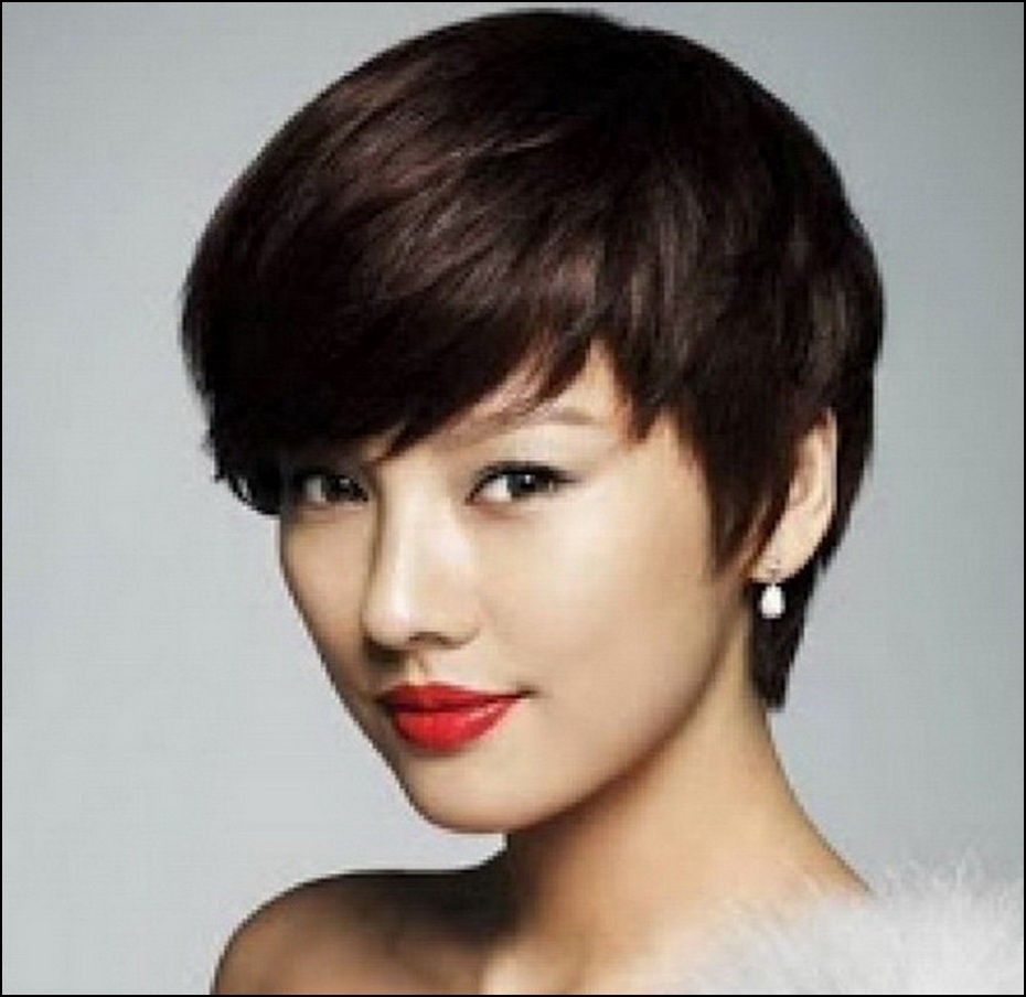 Korean Short Haircuts For Round Faces | Hairstyles Ideas | Pinterest inside Korean Short Haircut For Round Face