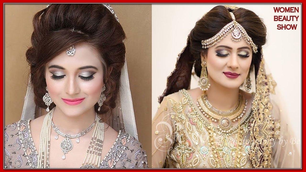 Latest Pakistani Bridal Dresses 2018 || Best Pakistani Bridal for Latest Hairstyle 2018 Female In Pakistan