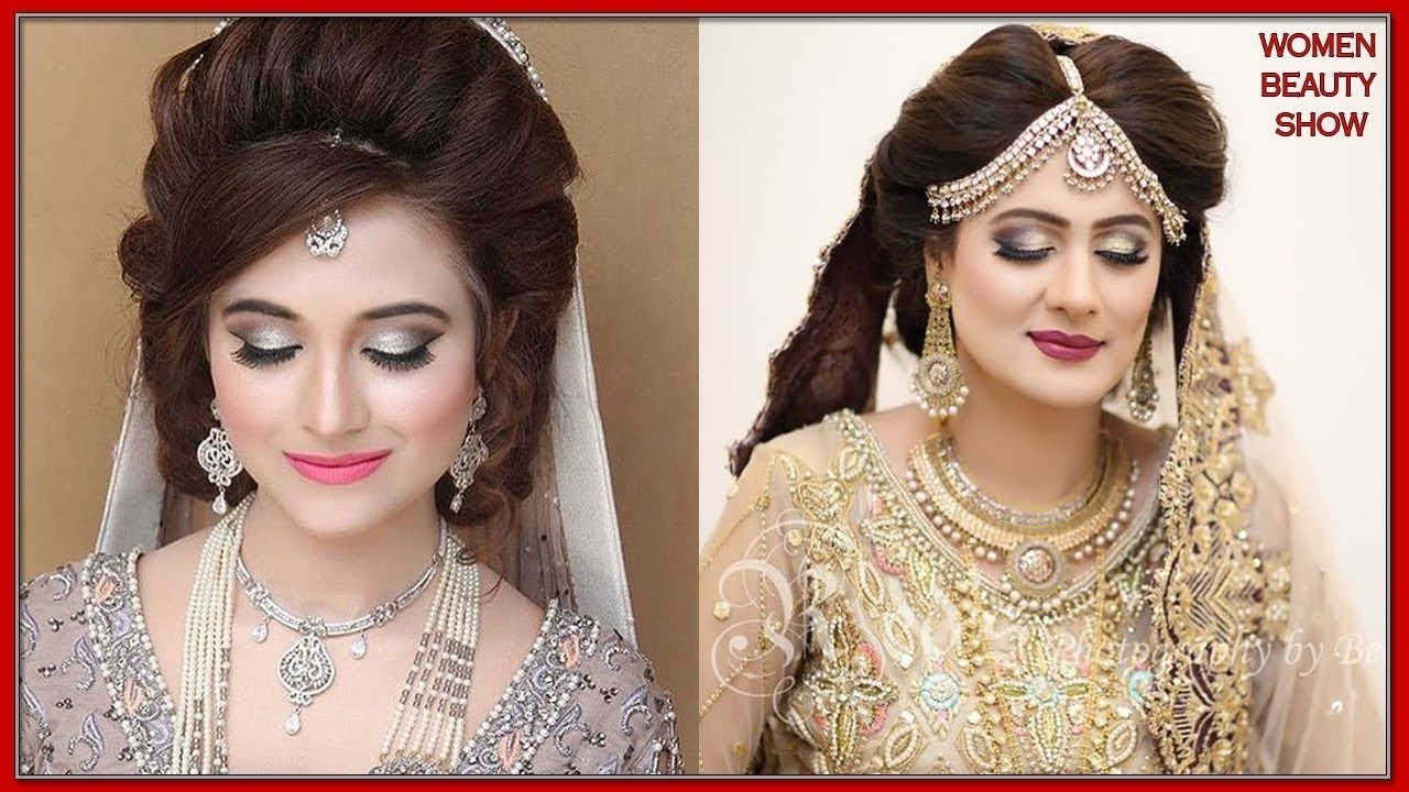 Latest Pakistani Bridal Dresses 2018 || Best Pakistani Bridal intended for New Hairstyle 2018 Girl Pakistani