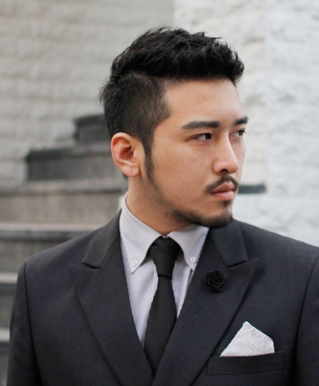 Latest Trendy Asian & Korean Hairstyles For Men 2018   Pinterest with Haircut For Round Face Asian Male