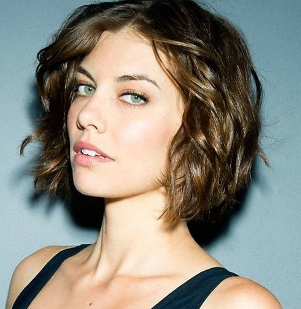 Layered Wavy Hairstyles Short | Hairstyles Ideas For Me | Pinterest regarding Short Haircut For Oval Face And Wavy Hair