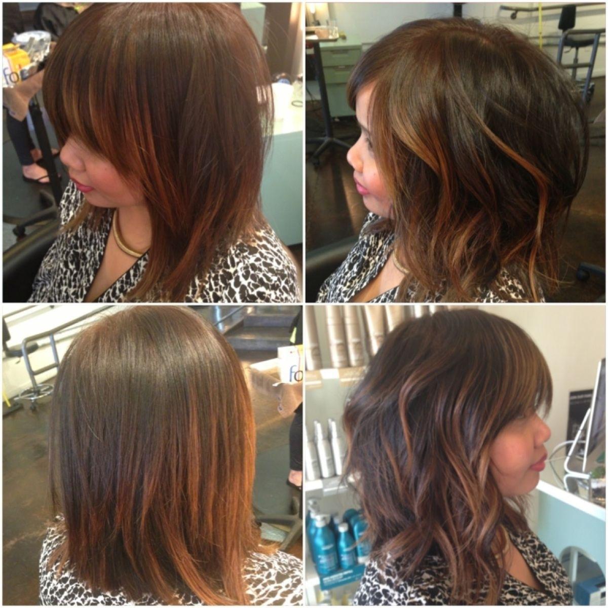 Long Bob, Lob, Balayage, San Diego Balayage Specialist, Hair Color regarding Best Haircut Salon In San Diego