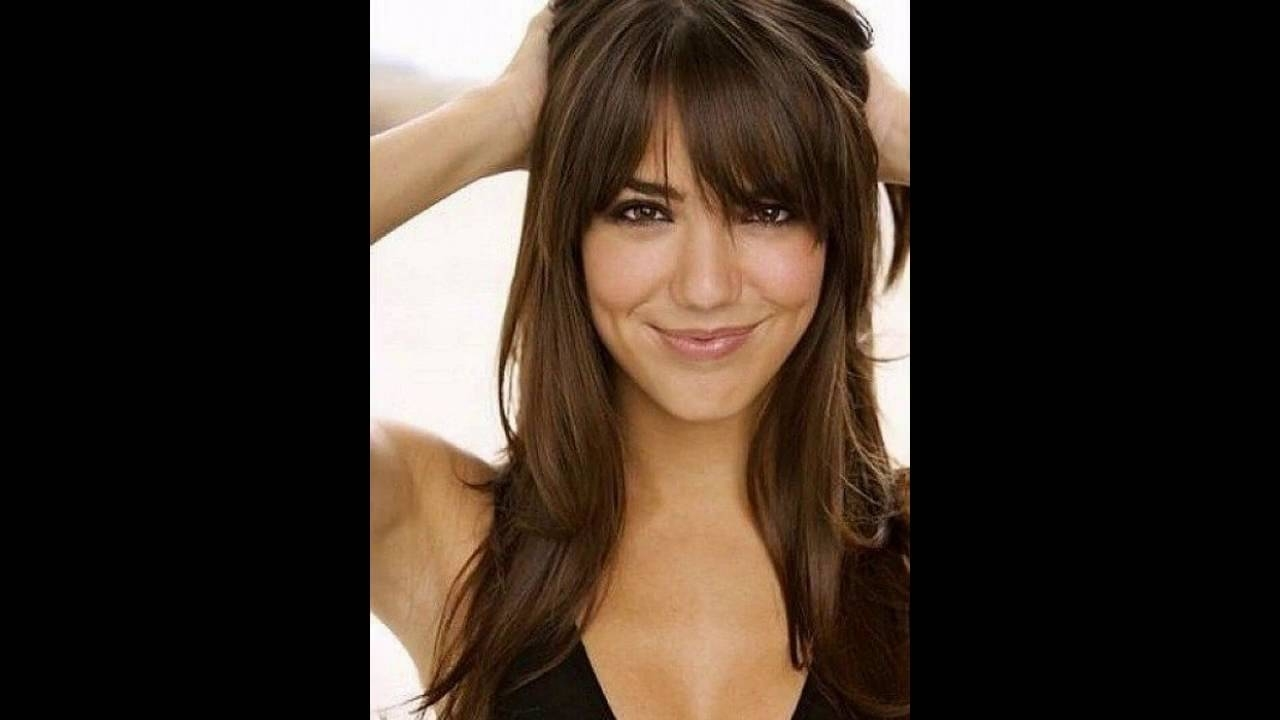 Long Hairstyles For Fine Hair Oval Face - Youtube in Haircuts For Thin Straight Hair Long Face