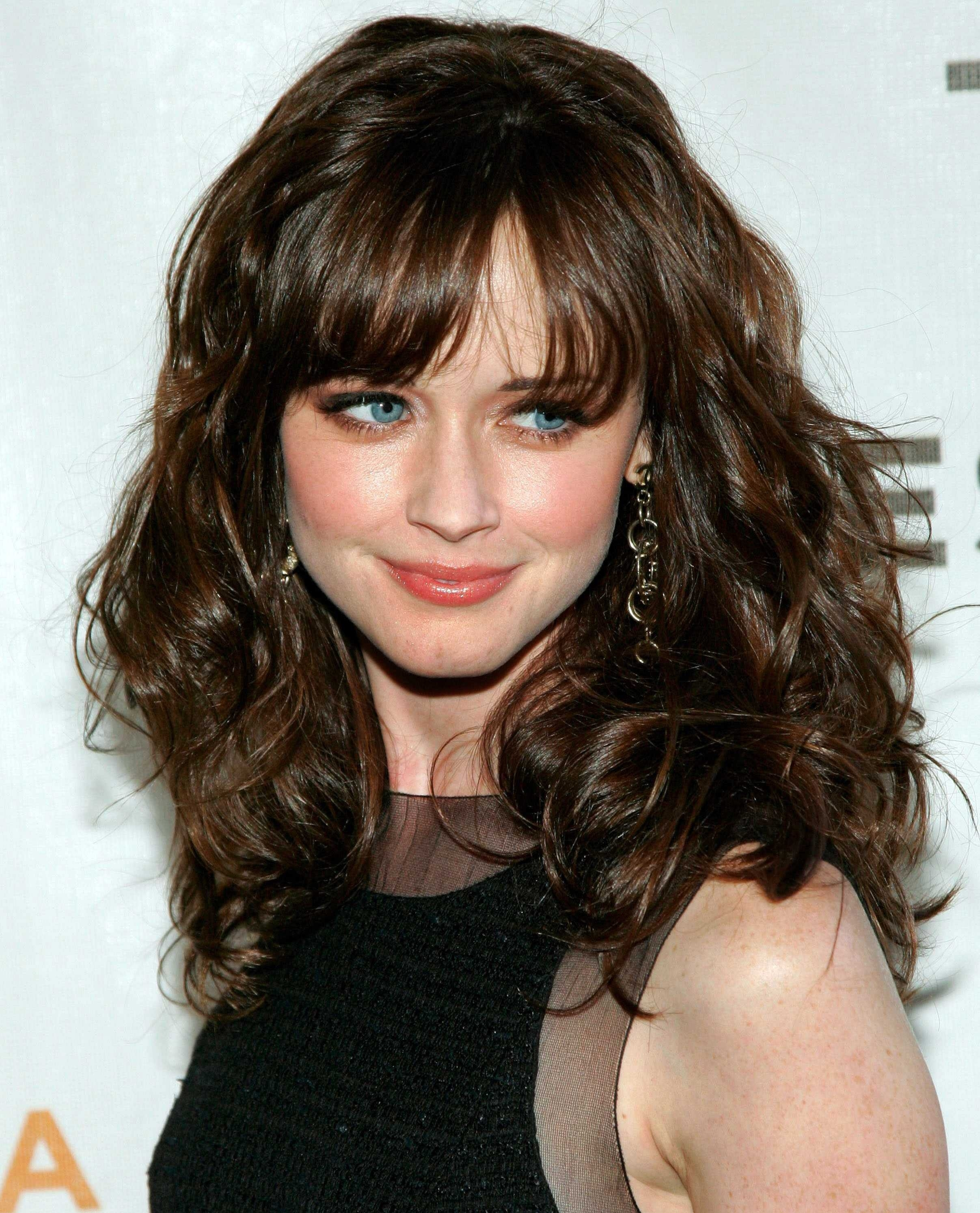 Long Wavy Hairstyles With Bangs Ideas Haircuts For Hair Tutorial with Haircuts For Wavy Hair With Bangs
