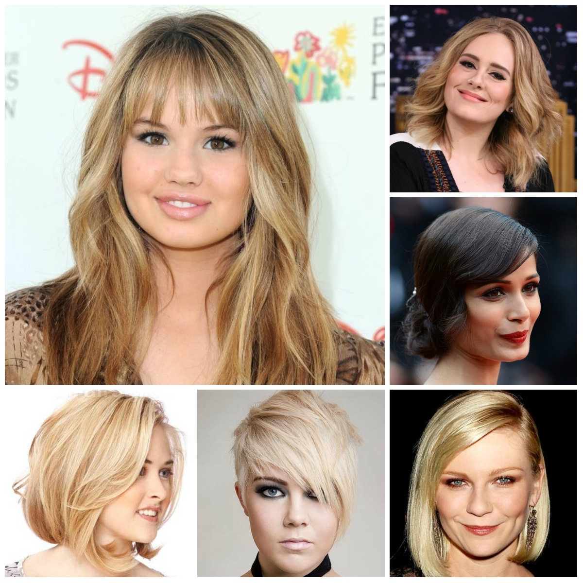 Medium Hairstyles For Chubby Faces - Hairstyle For Women & Man intended for Haircut For Oval Face With Chubby Cheeks