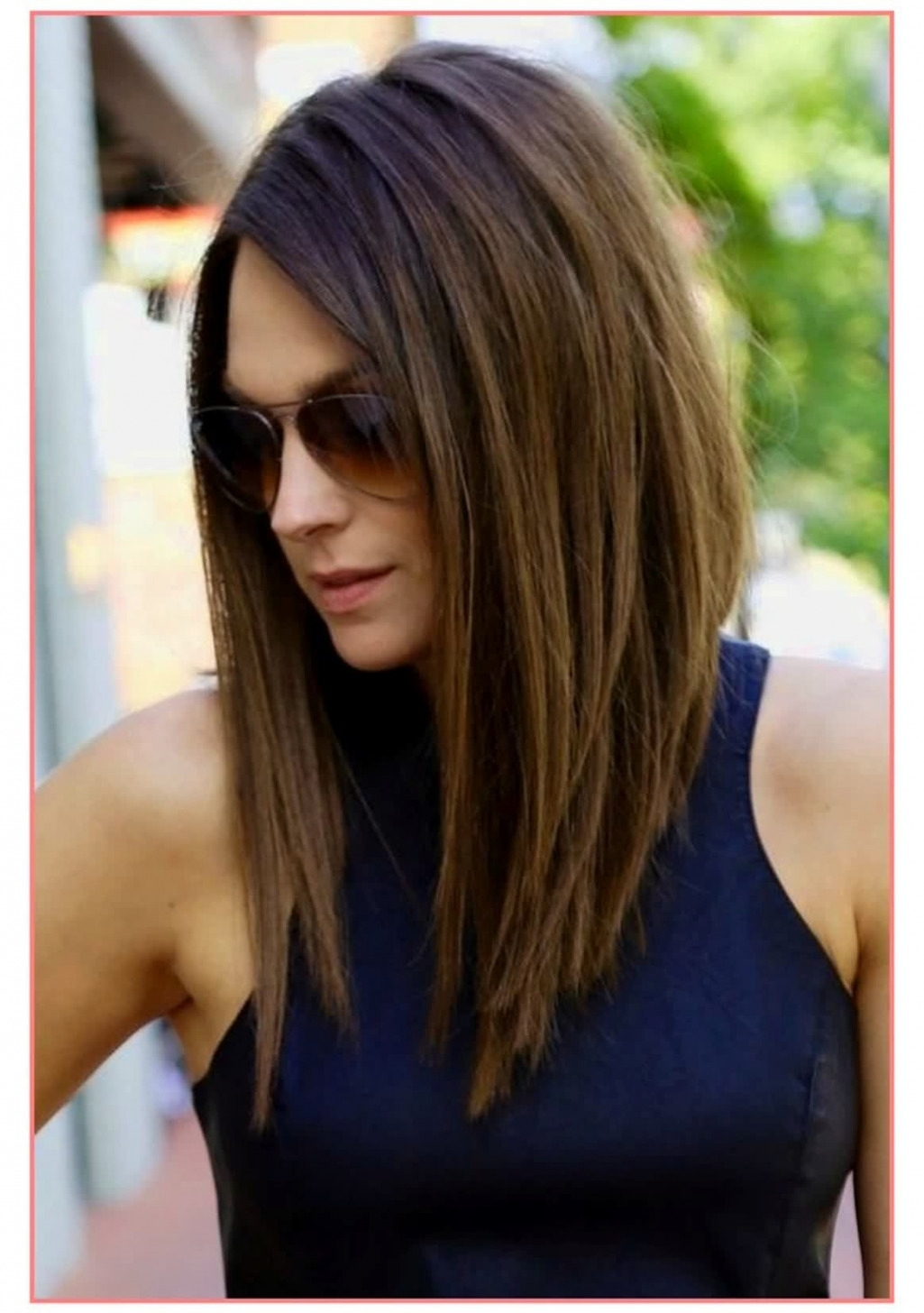 Haircuts 2018 Female Shoulder Length Wavy Haircut