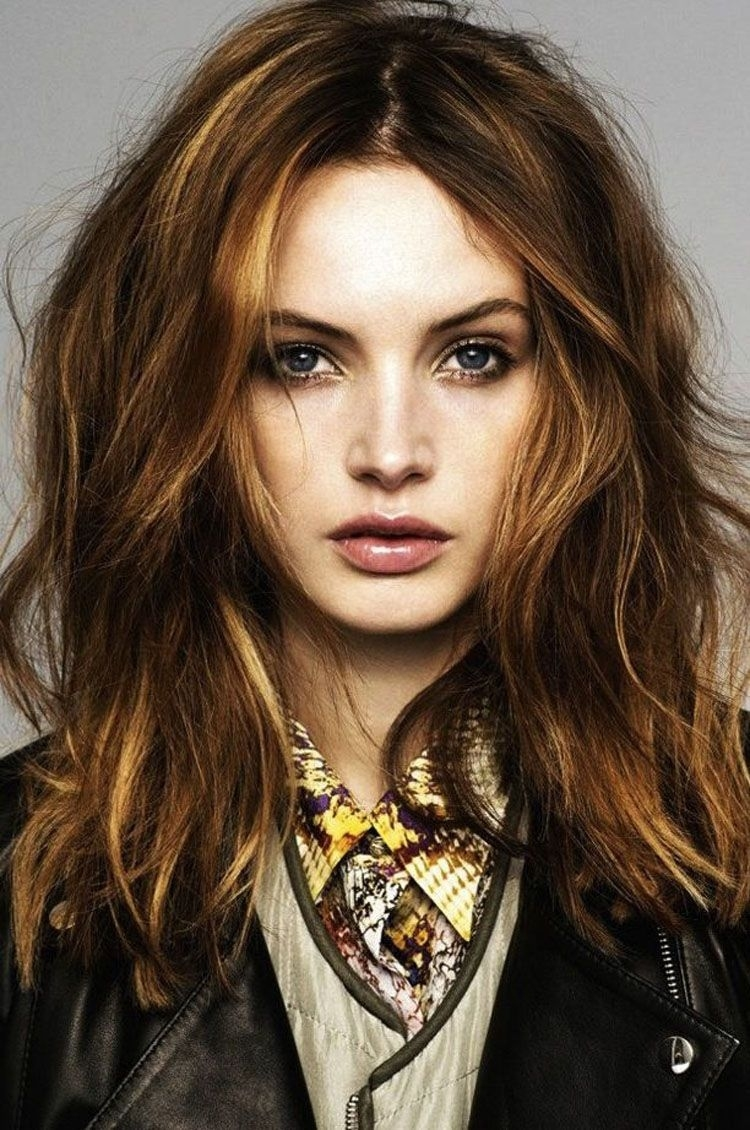Medium Length Hairstyles For Thick Hair Oval Face   2014 Medium throughout Haircut For Thick Hair Oval Face