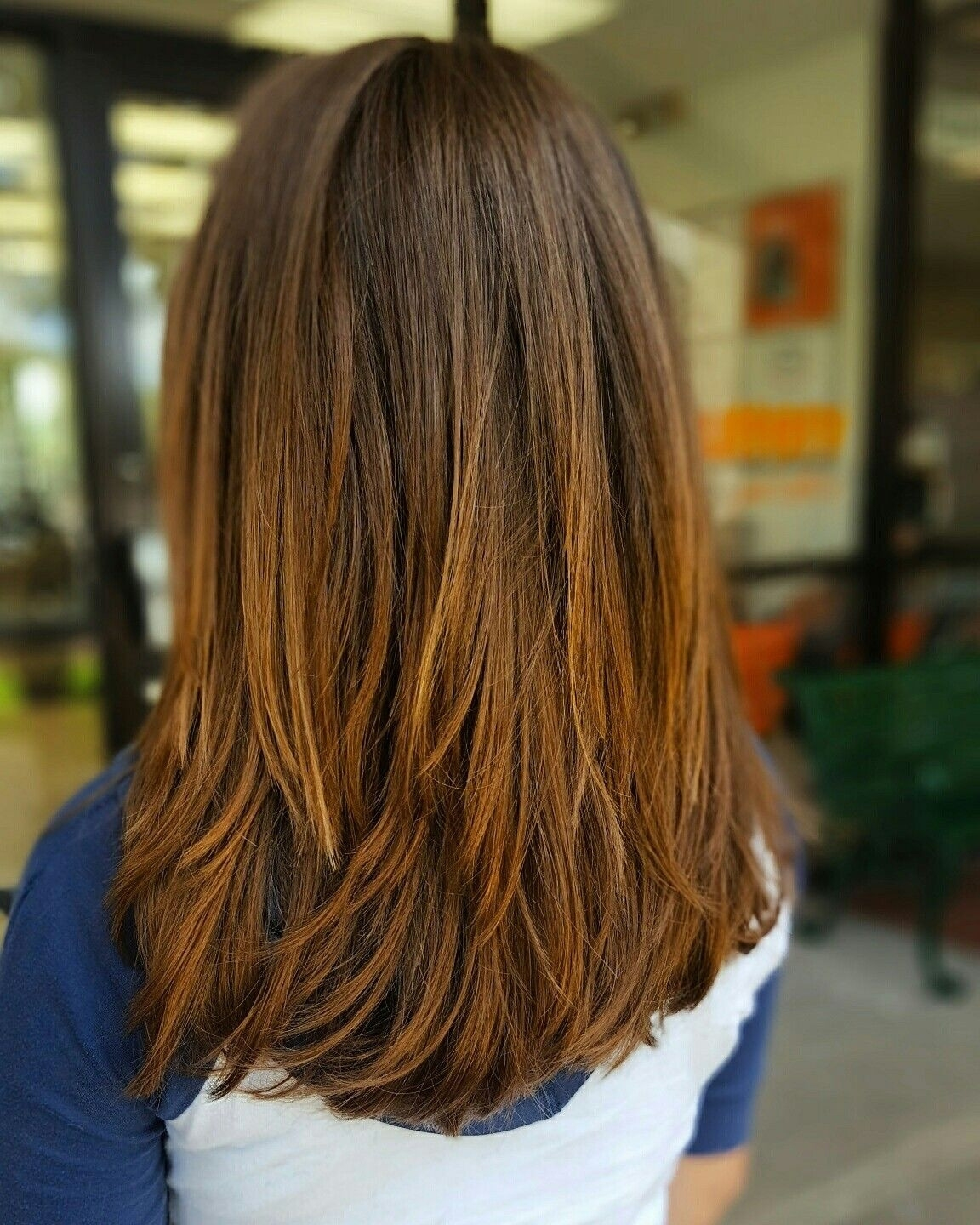 Medium Length Layered Haircuts For Thick Hair 2015 Unique Layered for Layered Haircuts For Thick Hair Pinterest