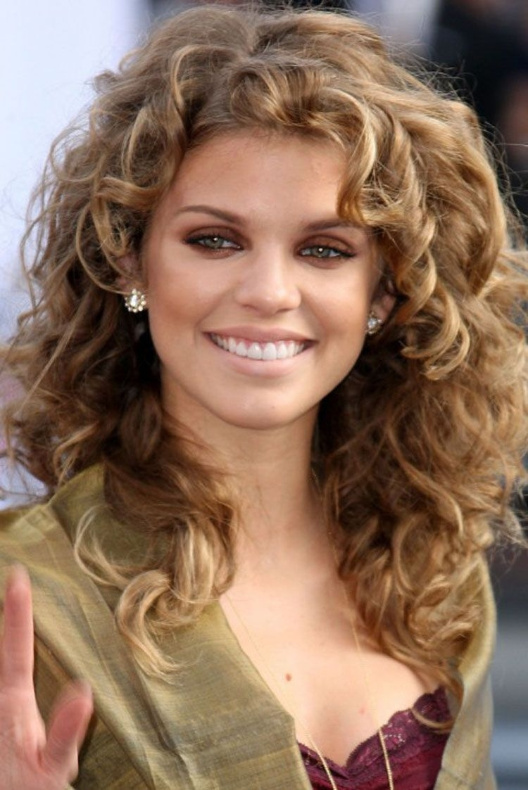 Mid Length Curly Hairstyles For Square Faces | 2014 Medium pertaining to Haircuts For Frizzy Hair Square Face