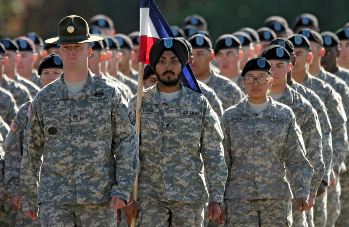 New Army Policy Oks Soldiers To Wear Hijabs, Turbans And Religious within Army Haircut Regulations 2017 Male