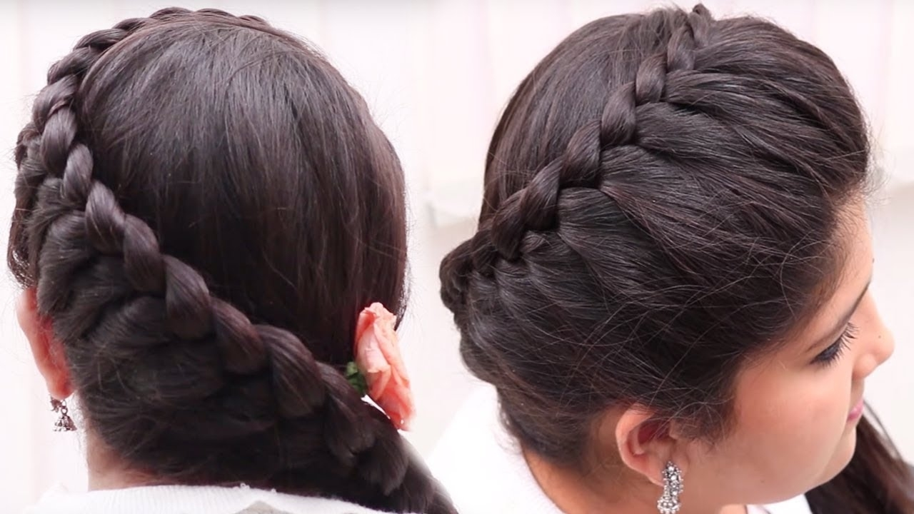New Easy And Quick Hairstyles For Long Hair || Festive Hairstyle For with New Hairstyle 2018 Girl Simple And Easy