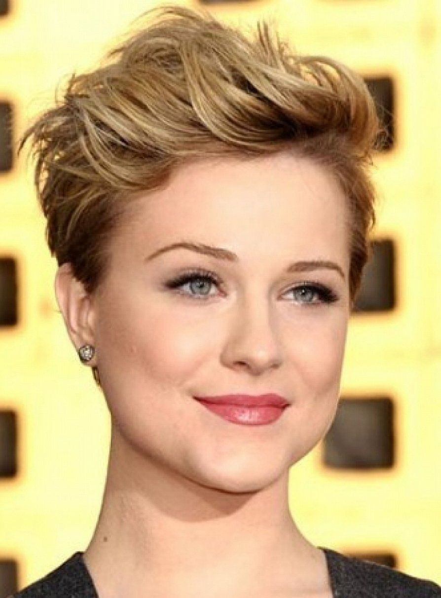 Nice Short Hairstyles For Square Faces 2015 Very Short   Hair Styles regarding Short Haircut For Square Face Female