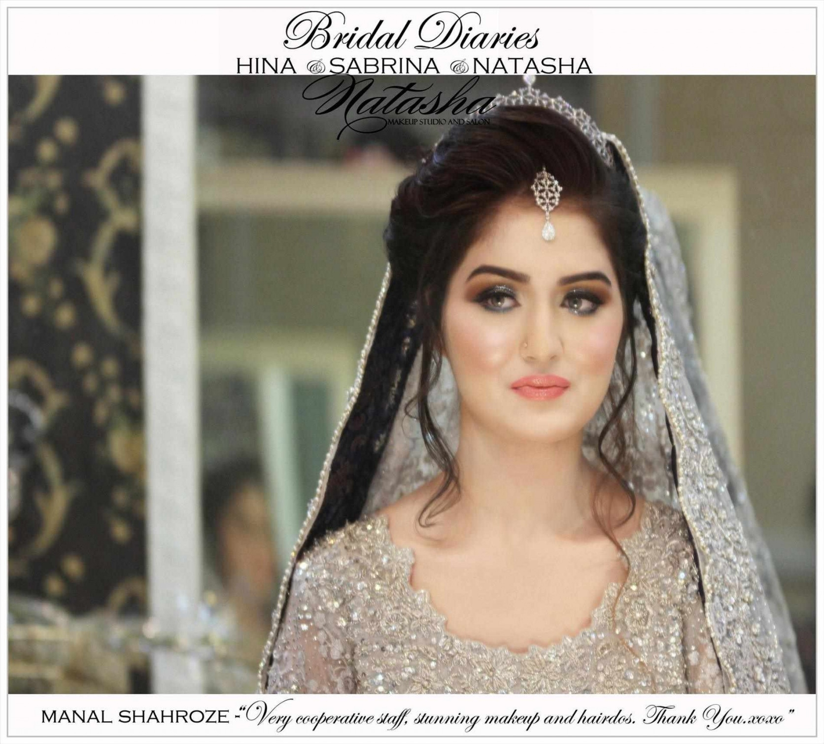 Bridal pakistani hairstyles for round faces photo