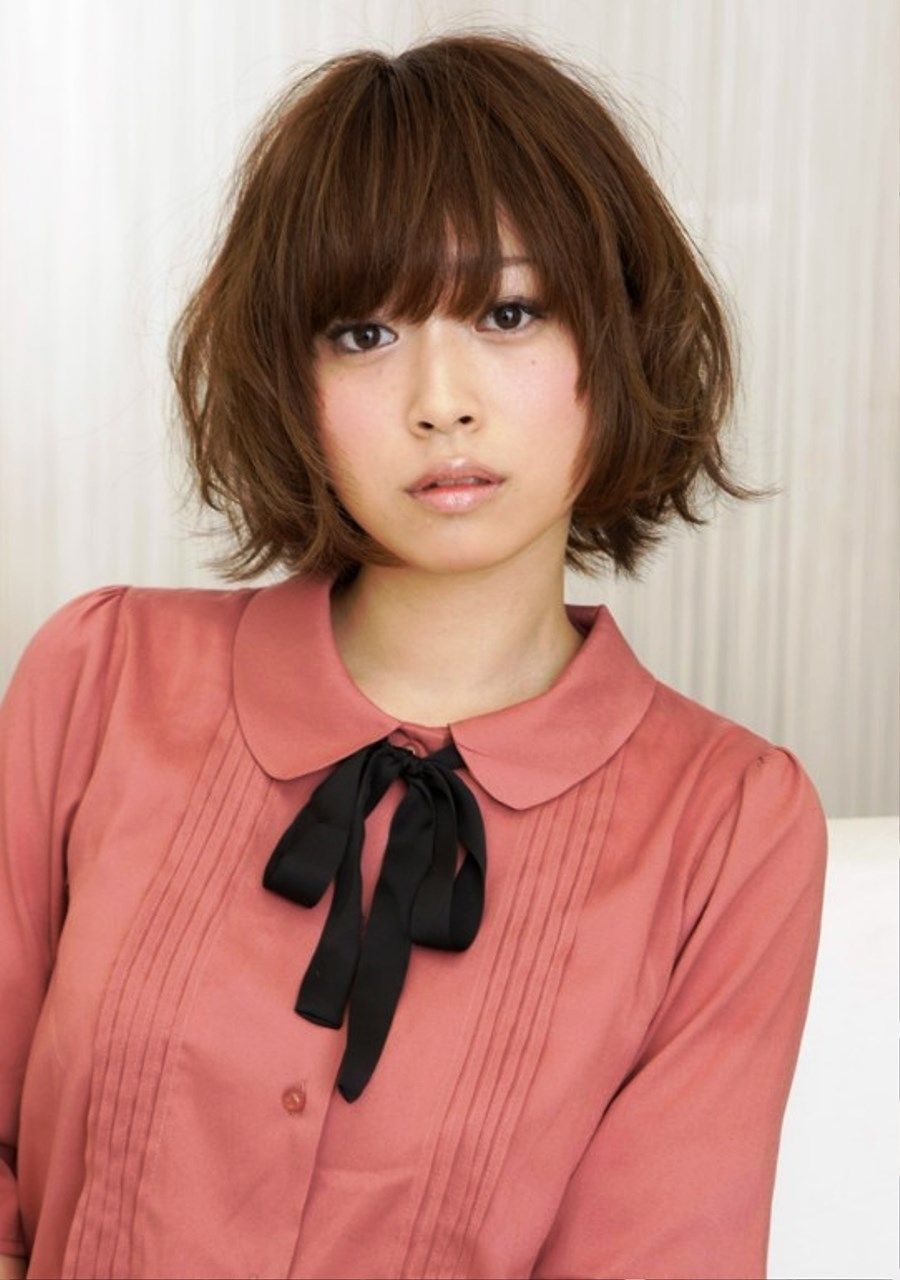 Pictures Of Cute Japanese Hairstyle 2013 inside Japanese Haircut For Square Face