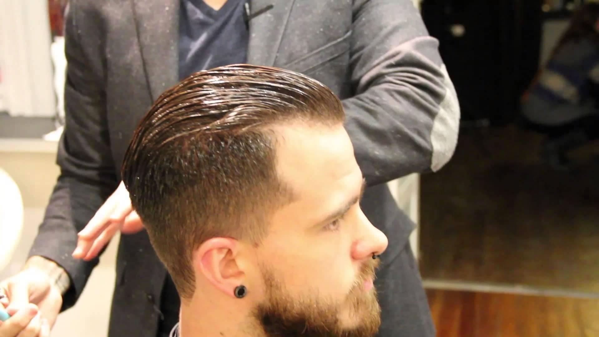 Pompadour Haircut - How To Cut A Pompadour Haircut - How To Style A for Pompadour Haircut For Thin Hair