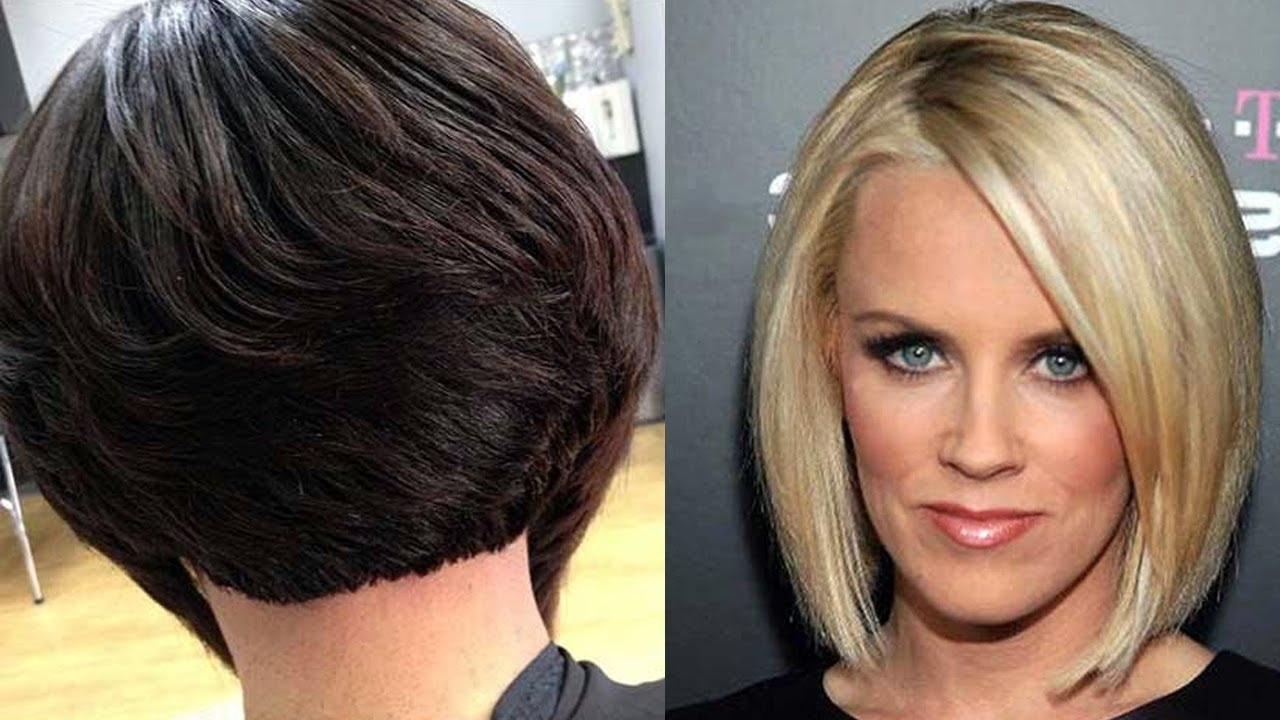 Popular Bob Haircuts For Round Faces - Round Faces Hairstyles For in Haircuts For Round Face Bob