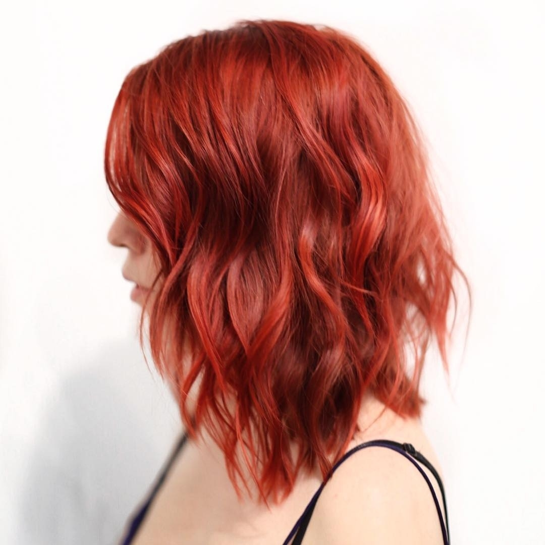 Red Hairstyles And Haircuts Ideas For 2018 — Therighthairstyles throughout Haircuts For Thin Red Hair