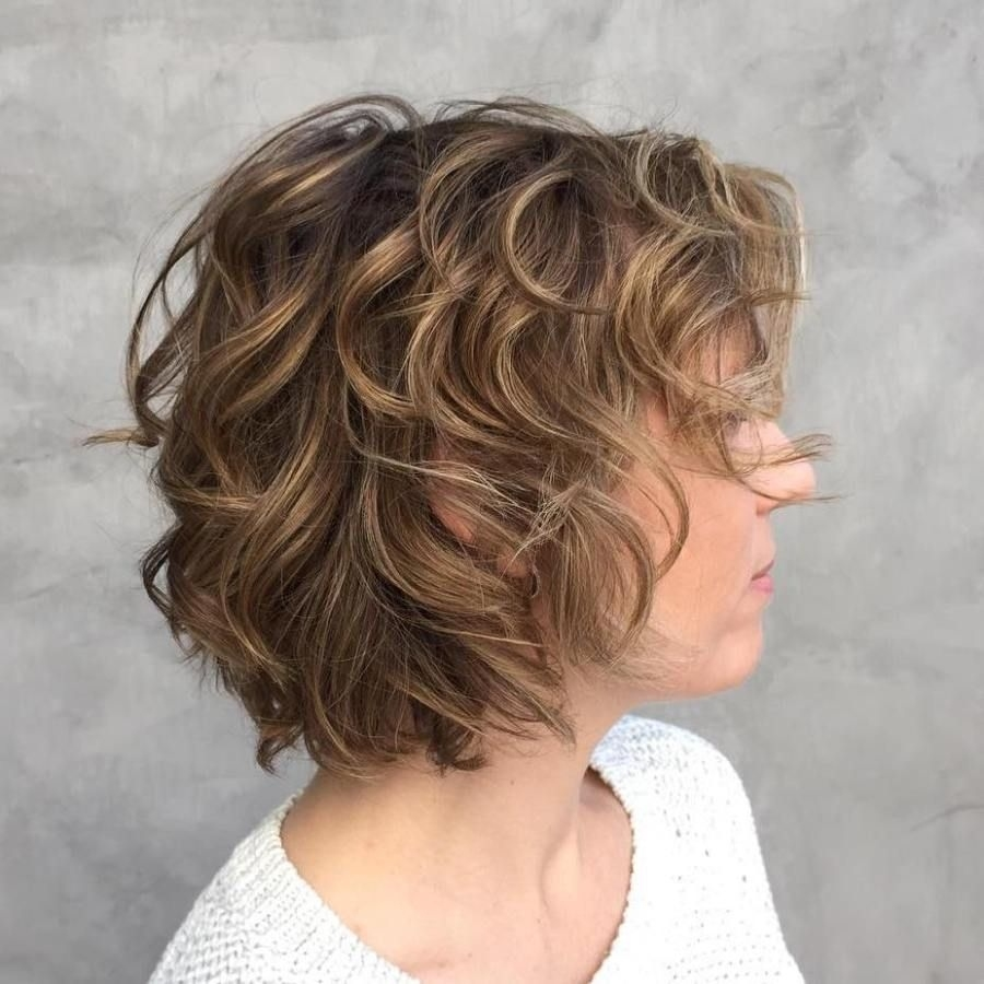 Shag Haircuts, Fine Hair And Your Most Gorgeous Looks | Curly inside Haircut For Curly Thin Hair