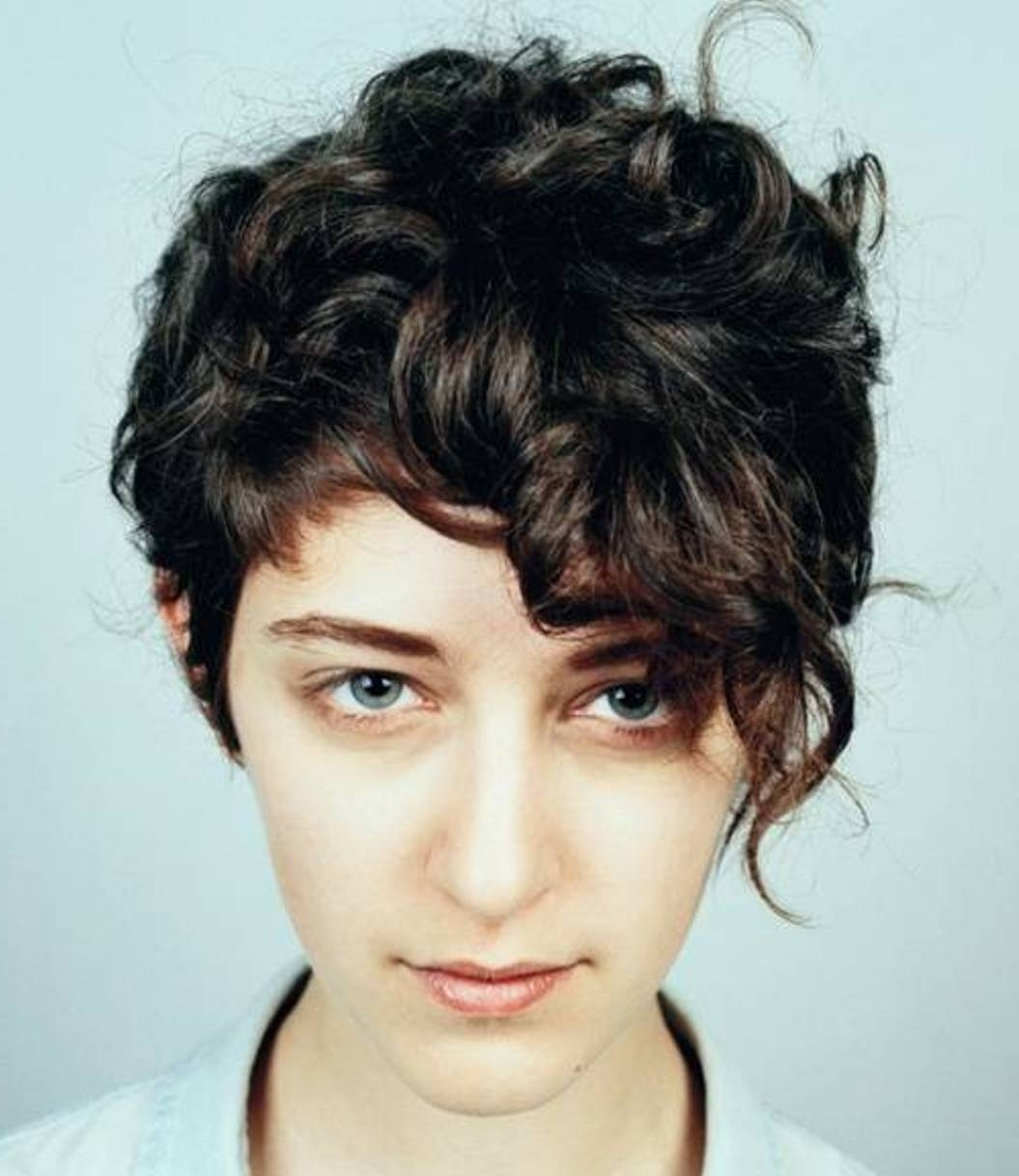 Short Hair Style Girls Curly - Hairstyles Inspiring regarding Short Curly Hairstyle For Girl