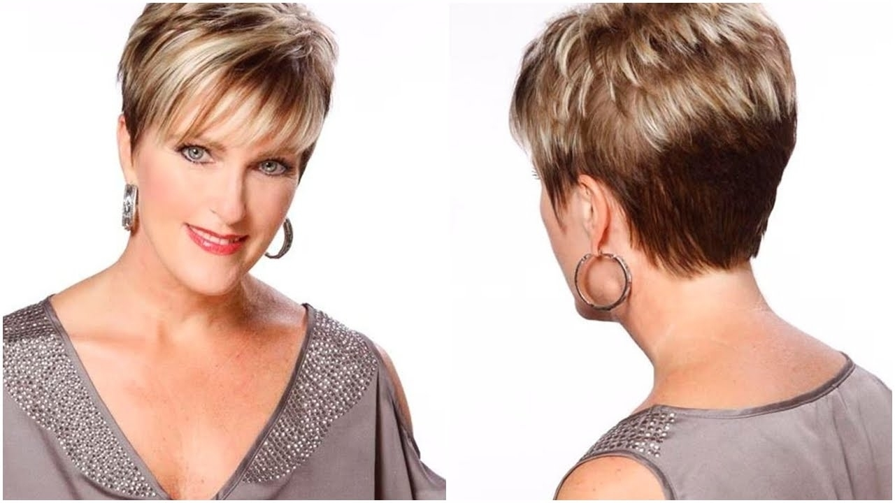 Pixie Haircut For Round Face Over 50