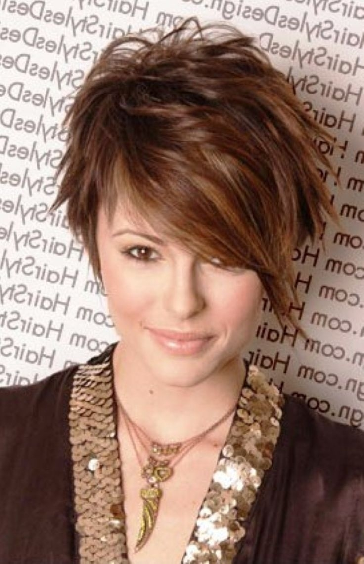 Short Hairstyles Round Face Thin Hair - Google Search | Mcw Hair with Short Haircut For Round Face Pinterest