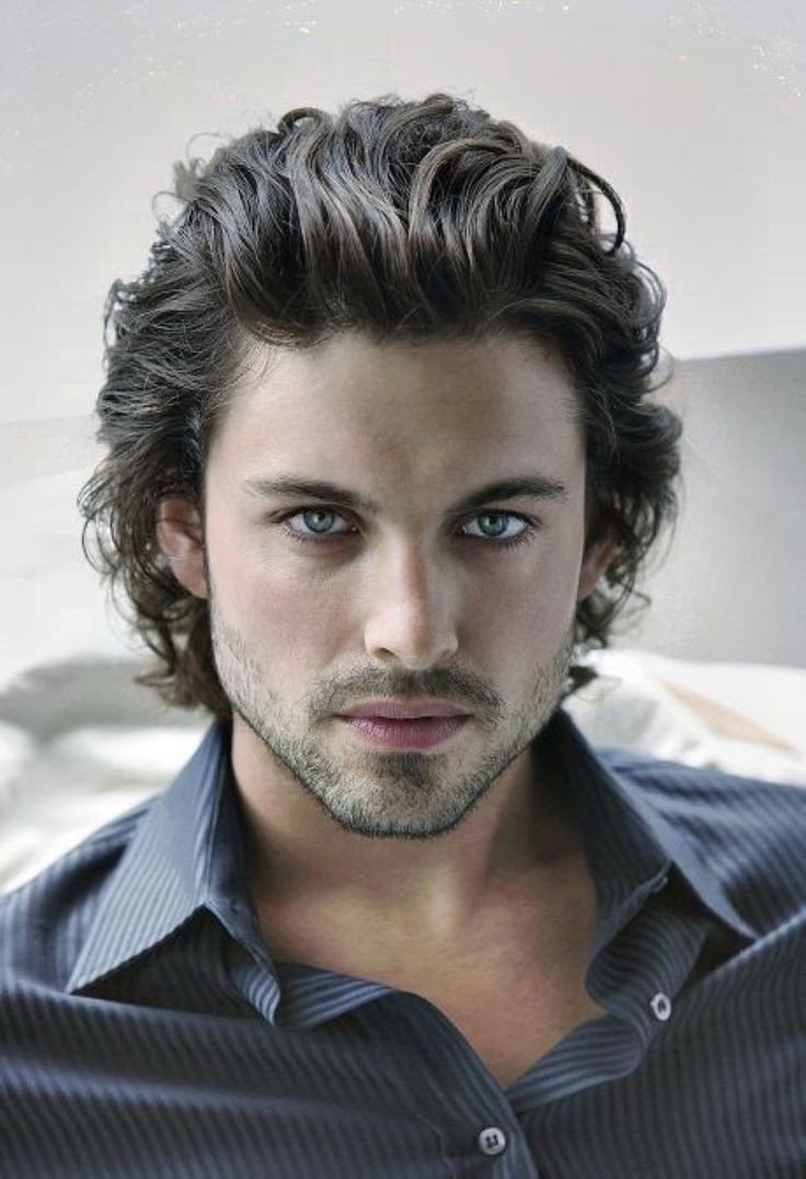 Short Hairstyles Thick Wavy Hair Pictures For Male Best Guys Mens throughout Haircut For Thick Wavy Hair Male