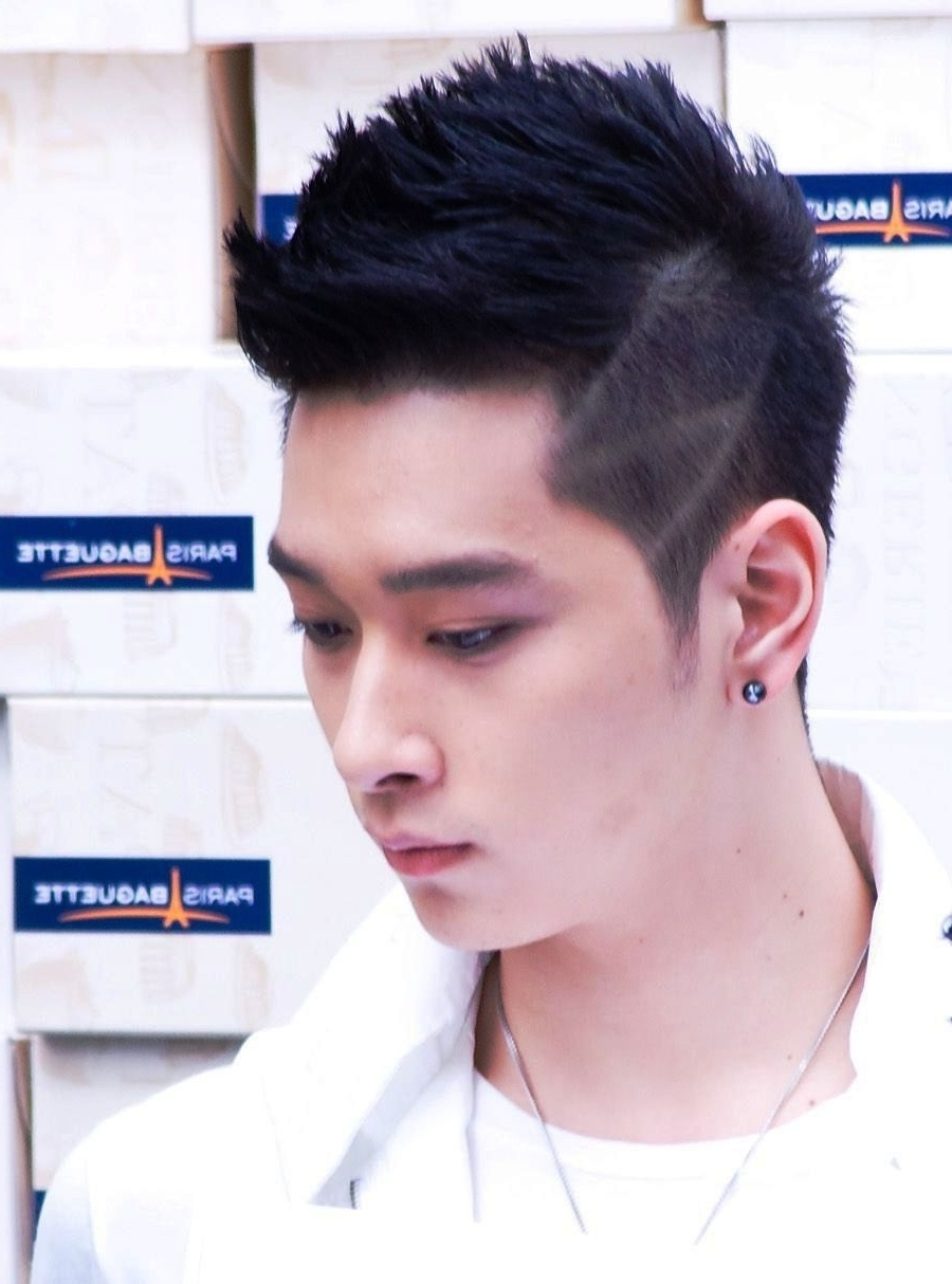 Short Korean Hairstyles For Men - Women Medium Haircut intended for Hairstyle For Square Face Male Asian