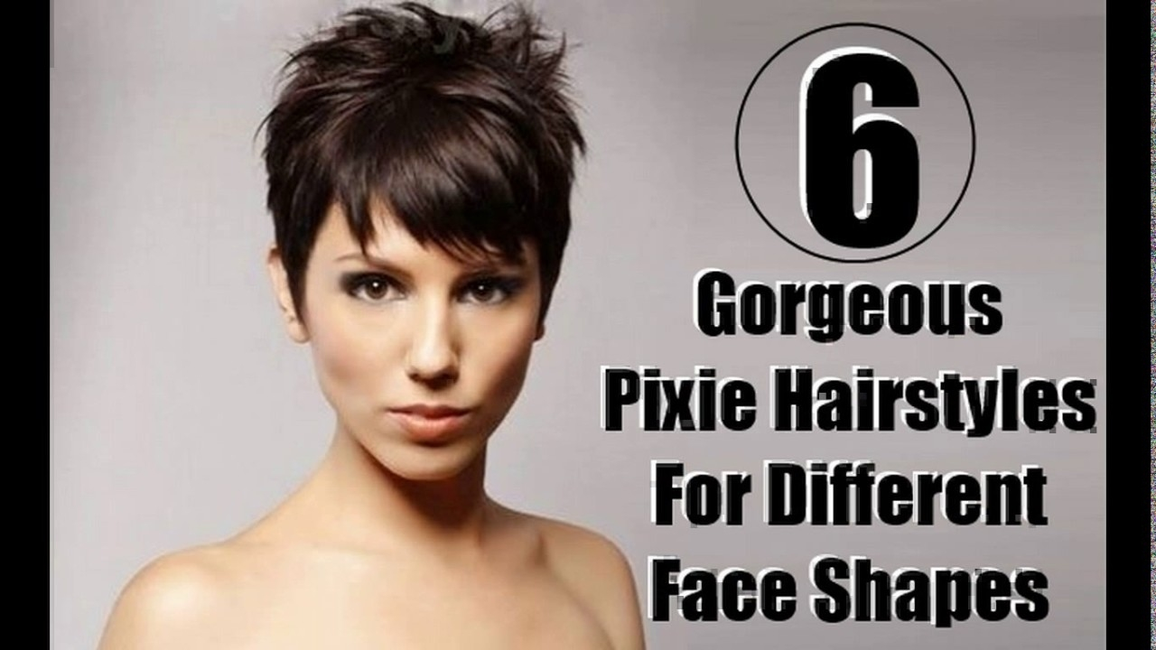 Pixie Haircut For Square Face Shape Wavy Haircut