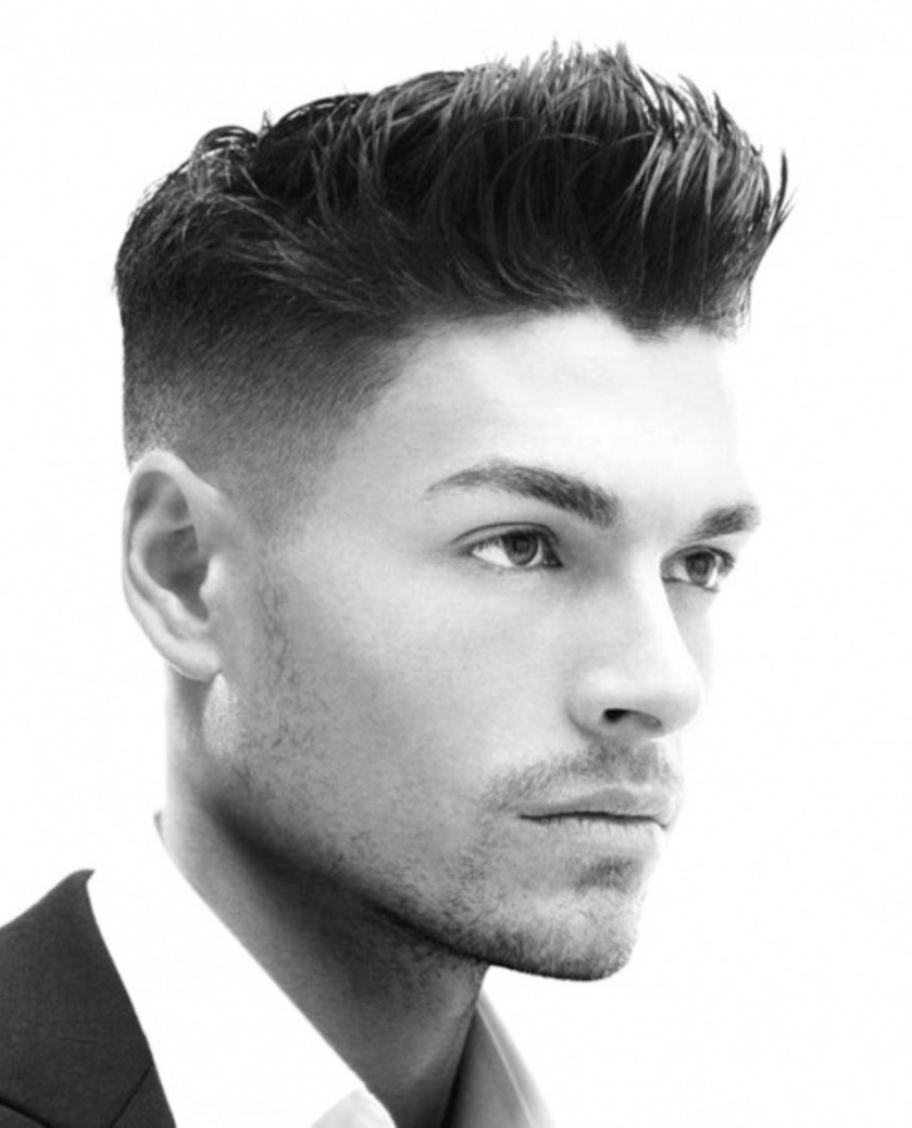 Straight Hairstyles Men Hairstyles For Men With Thick Straight Hair inside Mens Haircuts For Thick Dark Hair