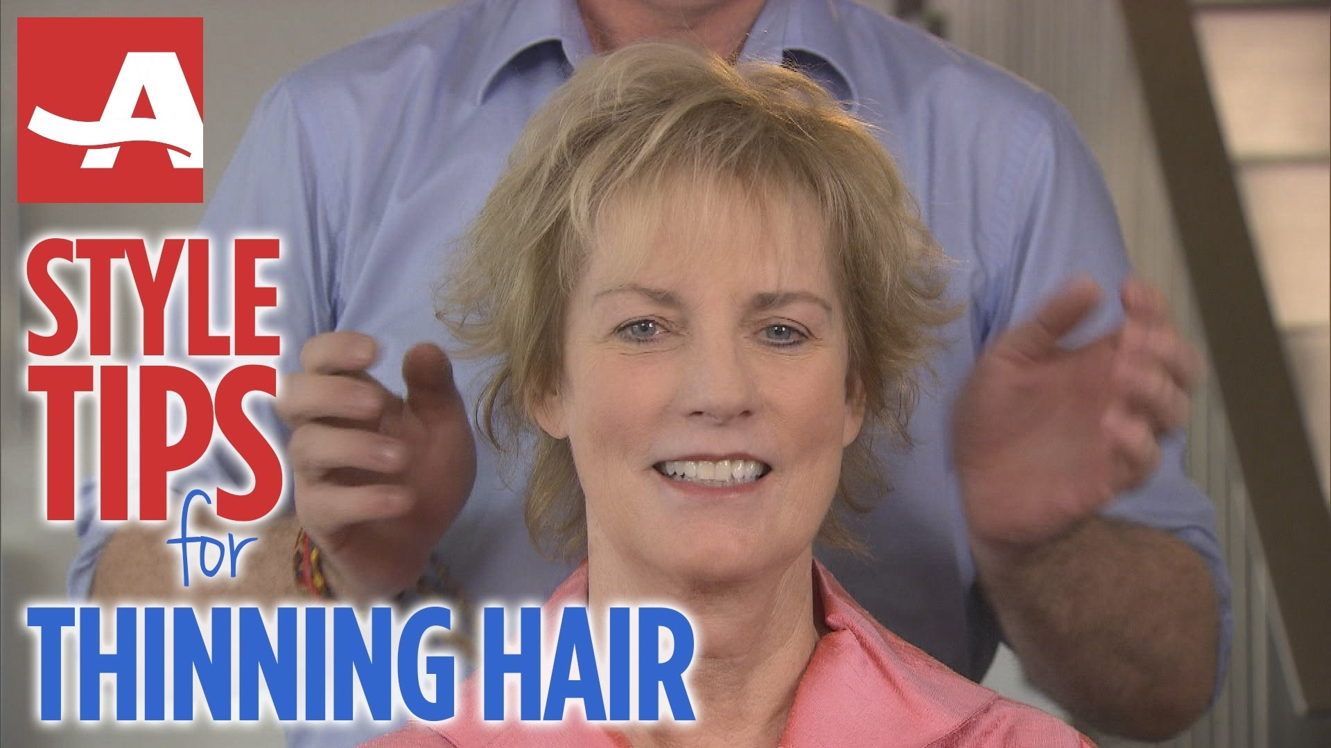 Style Tips For Thinning Hair | Best Of Everything | Aarp - Youtube throughout Haircut For Female Thinning Hair