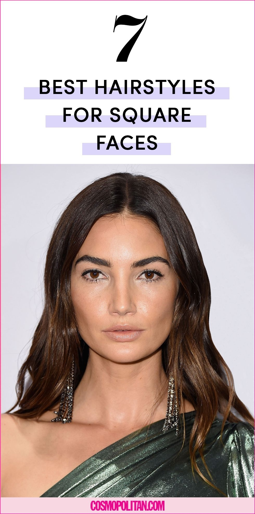 The 7 Best Hairstyles For Square Face Shapes in Hairstyle For Square Face Large Forehead