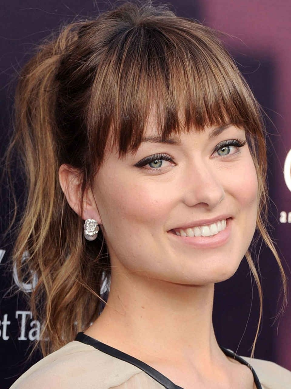 The Best (And Worst) Bangs For Square Face Shapes | Celebrity Beauty regarding Haircut For Square Face With Bangs