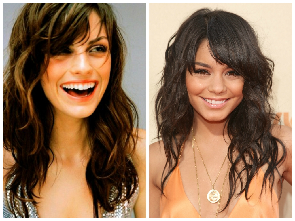 The Best Bang Hairstyles For Oval Face Shapes - Women Hairstyles pertaining to Bangs For Wavy Hair Oval Face