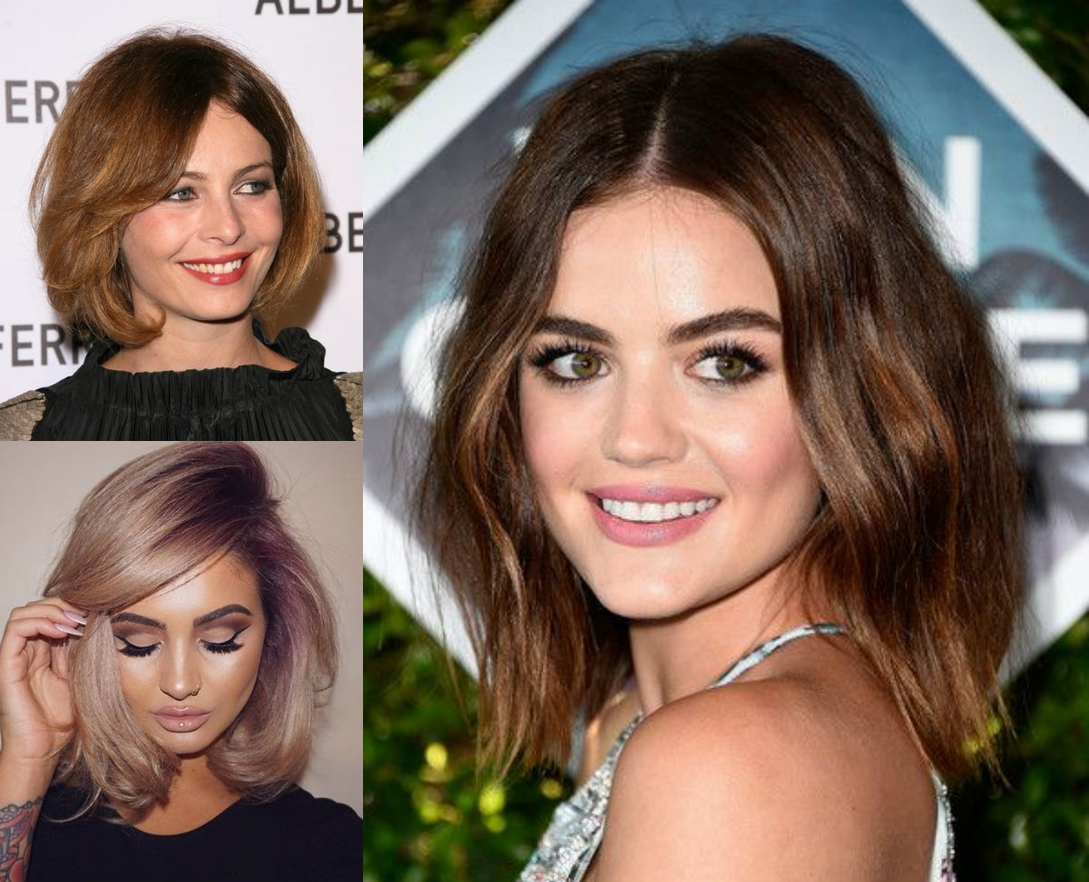 The Best Fit Bob Haircuts For Round Face | Hairdrome regarding Haircuts For Your Round Face