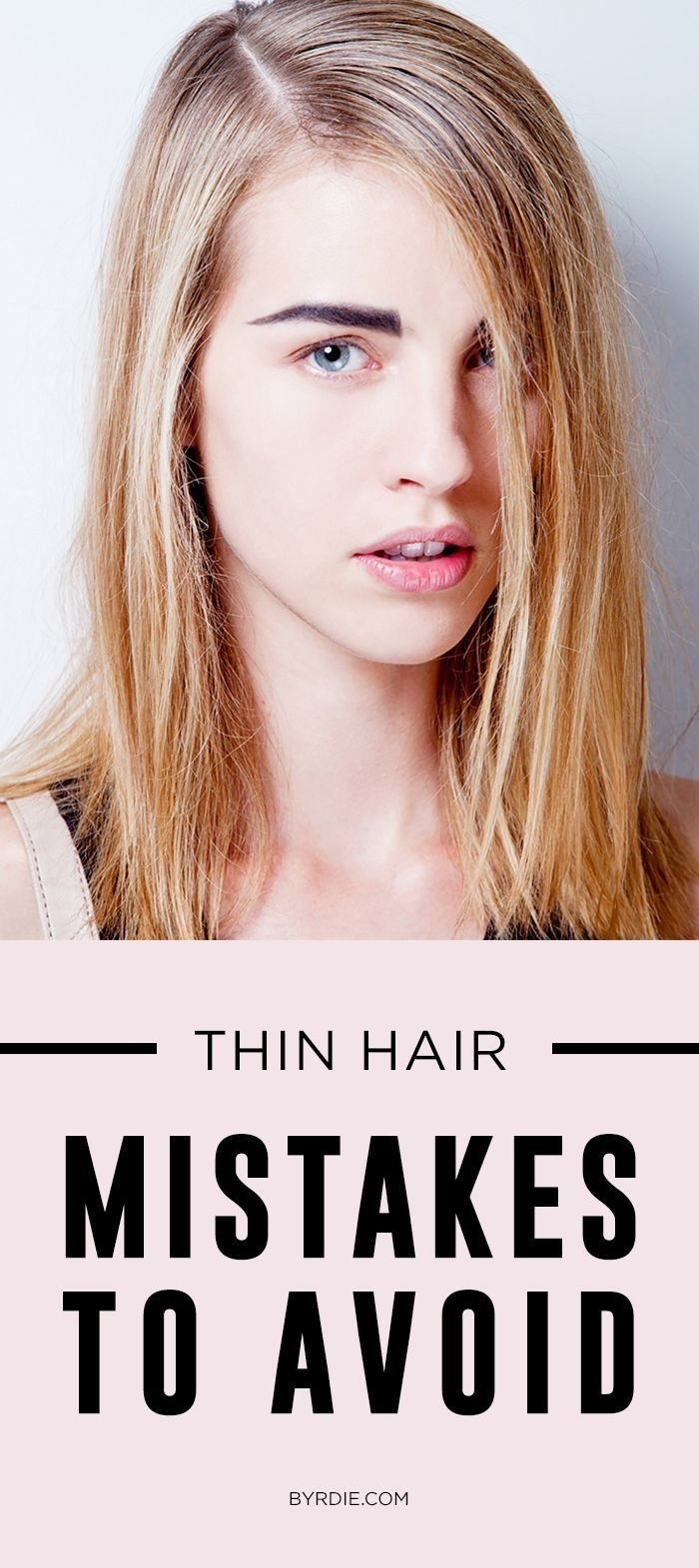 The One Mistake That's Ruining Your Thin Hair   Pinterest   Thin regarding Haircut Tips For Thin Hair