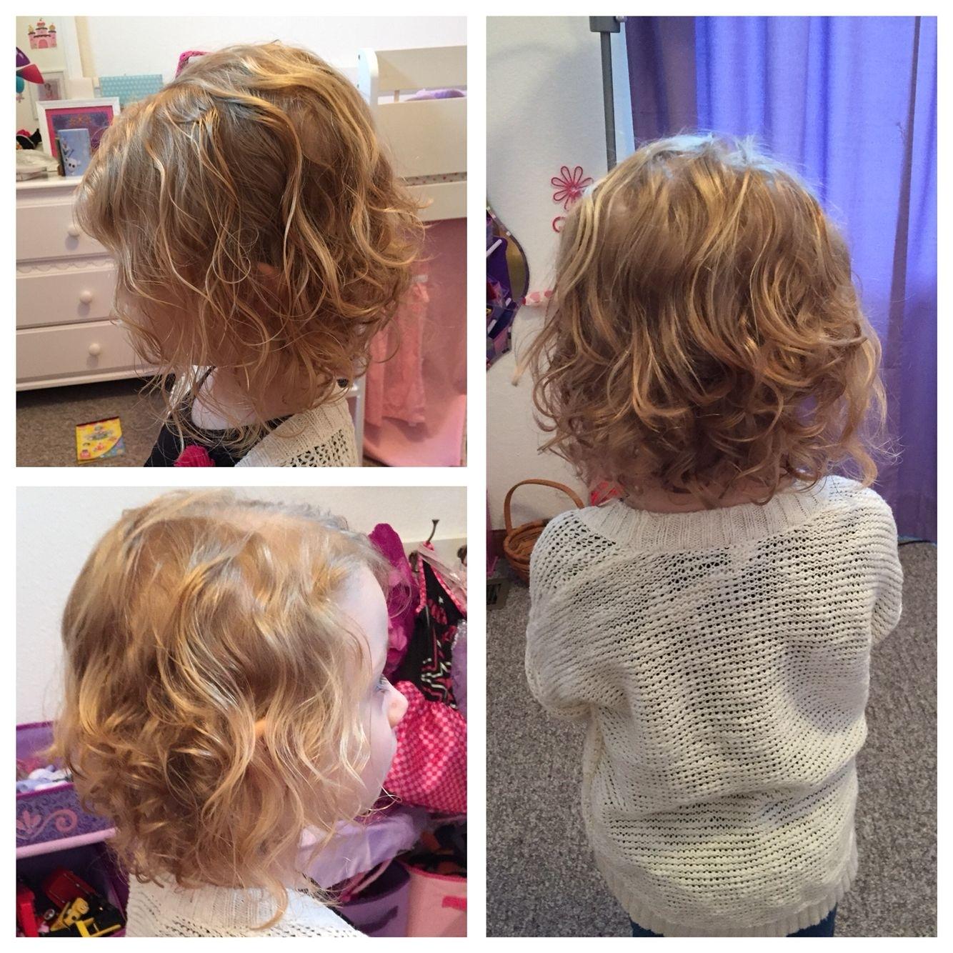 Toddler Girl Curly Hair Bob Short Haircut | Clothing Ideas pertaining to Haircut For Curly Hair Toddler Girl