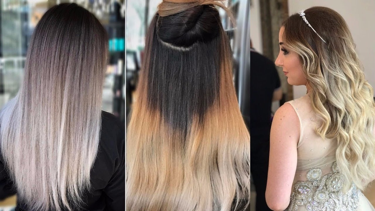 Top 10 Most Popular Women's Hair Color Trends 2018 - Youtube intended for 2018 Haircut And Color Trends