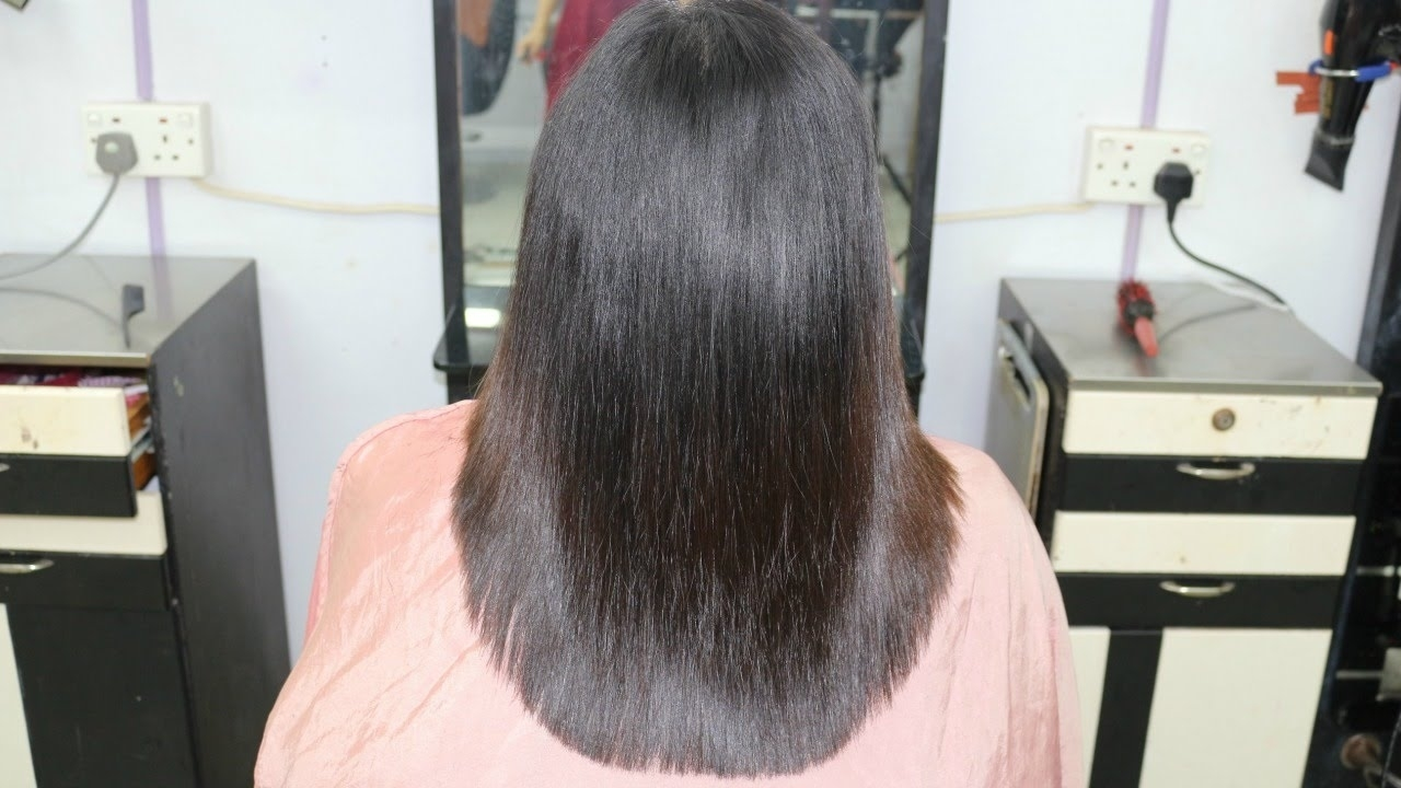 U Shape Layer Cut / Indra Gurung - Youtube throughout Deep U Haircut For Thin Hair