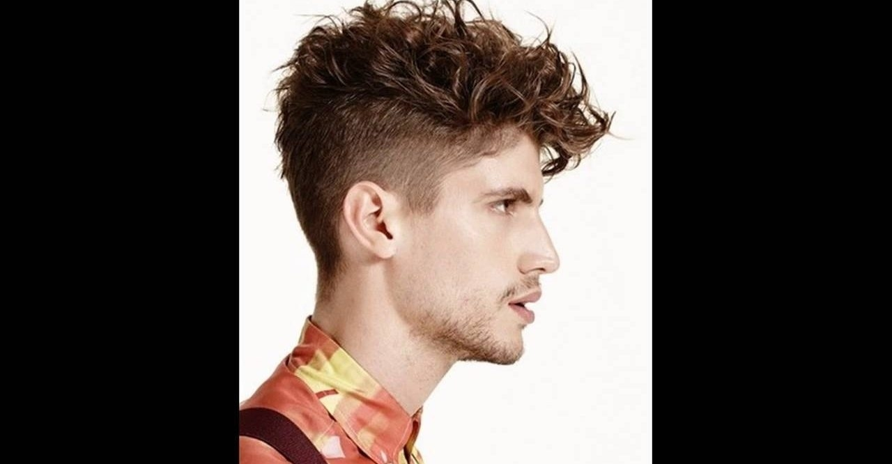 Undercut Haircut With Curly Hair – Haircutting.co in Undercut Haircut For Thick Hair
