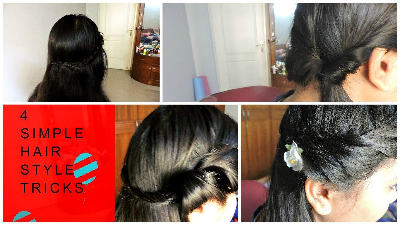 Very Simple Hair Style Tricks For Thin Hair - Youtube within Hairstyle For Thin Hair Indian