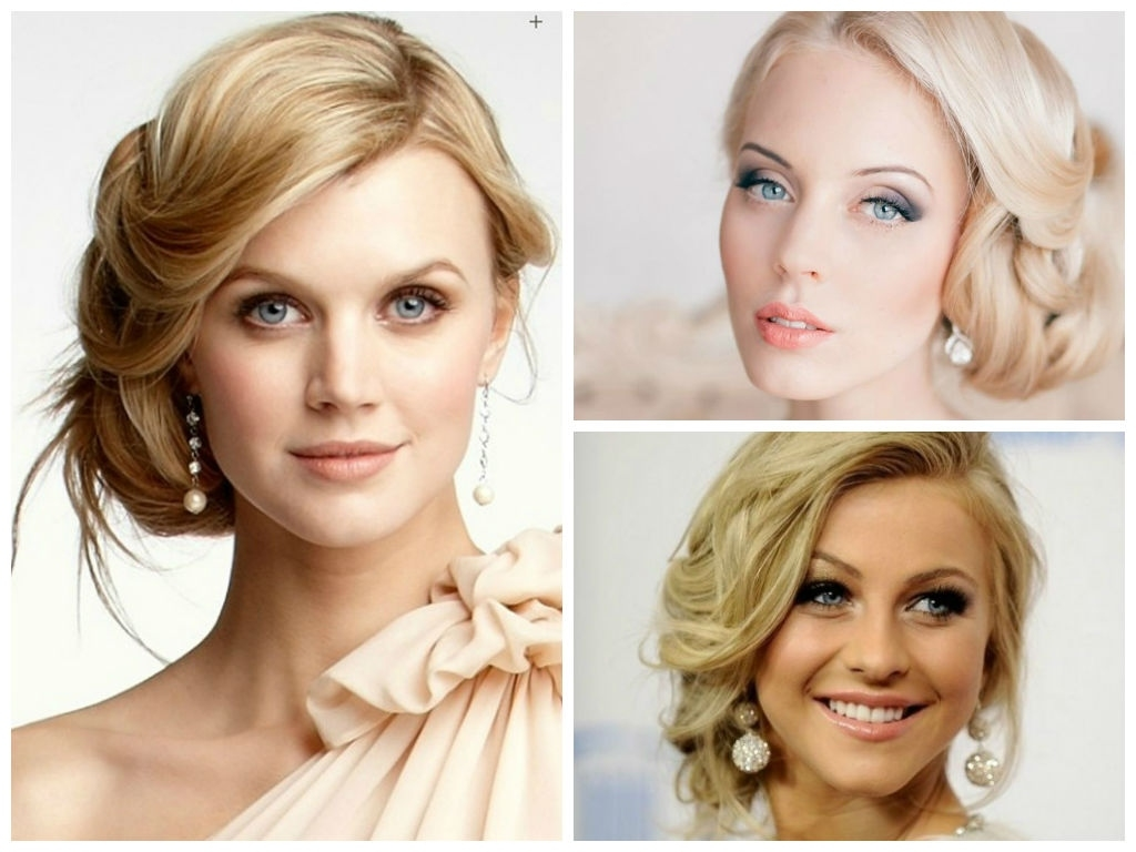 Wedding Hairstyles For A Round Face Shape - Hair World Magazine regarding Hairstyle For Round Face Party